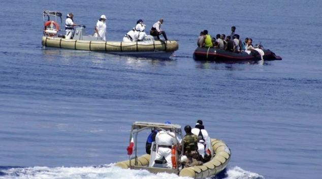 إحباط عملية إجتياز الحدود البحرية خلسة