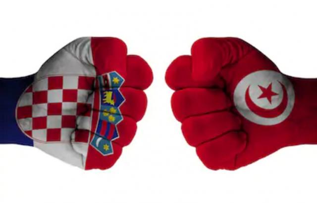 منتخب تونس منتخب كرواتيا